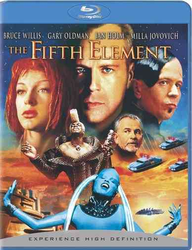 FIFTH ELEMENT BY WILLIS,BRUCE (Blu-Ray)